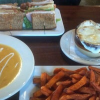 Photo taken at Blazing Onion Burger Company by Beth N. on 11/26/2012
