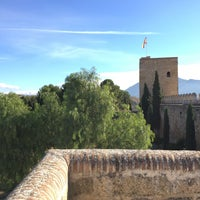 Photo taken at Alcazaba de Antequera by Jerry on 12/26/2015