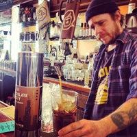 Photo taken at Dark Matter Coffee (Star Lounge Coffee Bar) by Daniela B. on 3/31/2013