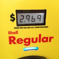 Photo taken at Shell by Stephanie P. on 2/7/2013