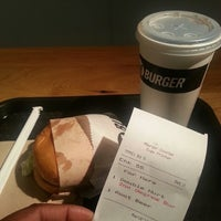 Photo taken at M Burger by Gregory C. on 3/18/2013