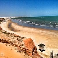 Photo taken at Praia de Canoa Quebrada by Lucas L. on 1/30/2013