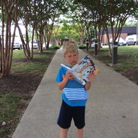 Photo taken at Midlothian Library by Amy on 7/7/2014