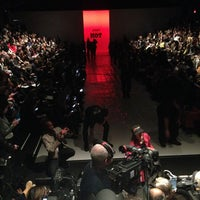 Photo taken at The Stage At MBFW by Kenneth J. on 2/12/2014