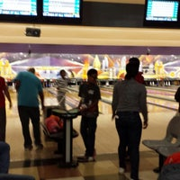 Photo taken at AMF Pikesville Lanes by Consuella Queen Bee Craig on 3/8/2014
