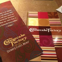 Photo taken at The Cheesecake Factory by Maria Fernanda L. on 2/9/2013