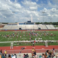 Photo taken at Bob Shelton Stadium by Marielle K. on 5/31/2014