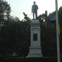 Photo taken at Col. William Watson Monument by Renault G. on 5/30/2013