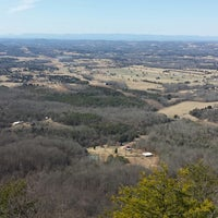 Photo taken at House Mountain Overlook by Joe B. on 2/23/2014