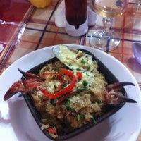 Photo taken at Restaurant Marisquería Marcoa by Lorena on 11/3/2012