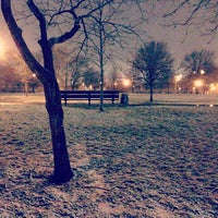 Photo taken at McCarren Park by marcella ®. on 12/30/2012