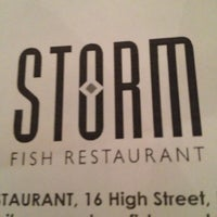 Photo taken at Storm Fish Restaurant by Natalie on 10/23/2012