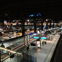 Photo taken at Hamburg Central Station by Lars on 2/20/2013