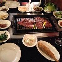 Photo taken at Shilla Korean Barbecue by Girish on 11/3/2012