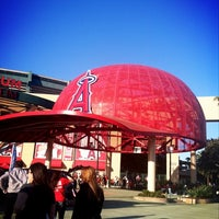Photo taken at Angel Stadium of Anaheim by Courtney on 4/20/2013