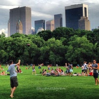Photo taken at Sheep Meadow - Central Park by Kyan Y. on 6/2/2013