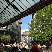 Photo taken at Café des Halles Saint-Géry by Christophe d. on 6/5/2013