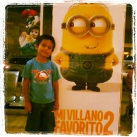 Photo taken at Cinema Gaviotas by Lizetilla J. on 8/5/2013