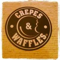 Photo taken at Crepes & Waffles by Fernanda Y. on 9/23/2012