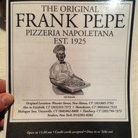 Photo taken at Frank Pepe Pizzeria Napoletana by Dens on 1/22/2013
