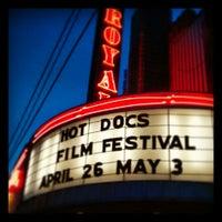 Photo taken at The Royal Cinema by David B. on 5/4/2013