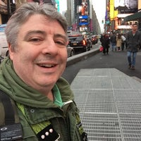 "Photo taken at Max Neuhaus ""Times Square"" by Kevin R. on 1/9/2016"