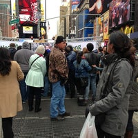 "Photo taken at Max Neuhaus ""Times Square"" by Kevin R. on 3/24/2013"