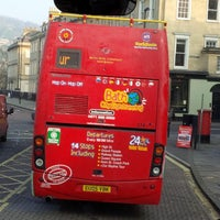 Photo taken at City Sightseeing Bath by Jessica F. on 3/13/2014