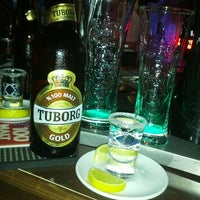 Photo taken at Trio Cafe&Bar by Halil D. on 5/25/2013