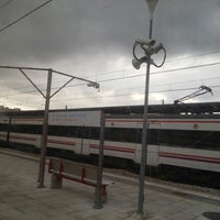 Photo taken at RENFE L'Hospitalet de Llobregat by Anna O. on 10/11/2012