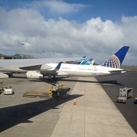 Photo taken at Kahului Airport (OGG) by Zbigniew R. on 1/6/2013