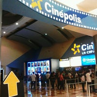 Photo taken at Cinépolis by Taylor James H. on 9/28/2012