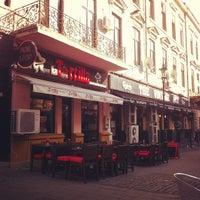 Photo taken at Arcade Café by Aleksey S. on 11/5/2012