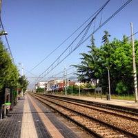 Photo taken at Stazione di Pompei by Cristiano E. on 5/4/2013