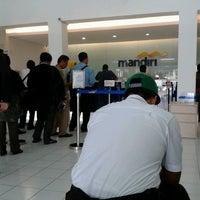 Photo taken at Bank Mandiri by Elmita N. on 7/15/2013