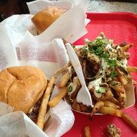 Photo taken at Edzo's Burger Shop by Kay D. on 7/27/2013