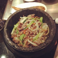 Photo taken at Shilla Korean Barbecue by Ray on 12/17/2012