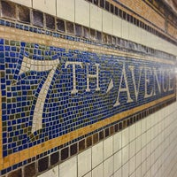 Photo taken at MTA Subway - 7th Ave (B/Q) by Ryan S. on 4/10/2015