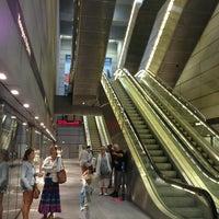 Photo taken at Kongens Nytorv St. (Metro) by Ksenia 💎 K. on 7/8/2013