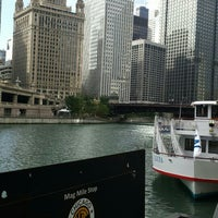 Photo taken at Chicago Water Taxi (Michigan) by Tim H. on 10/15/2015