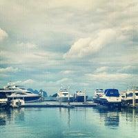 Photo taken at Ao Por Pier by Dina K. on 10/7/2012
