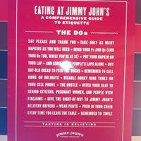 Photo taken at Jimmy John's by Eryn on 9/16/2012