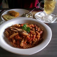 Photo taken at Pisa Kafe by Lingga D. on 3/9/2013