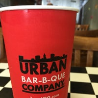 Photo taken at Urban Bar-B-Que- by Carol A. on 9/5/2016