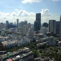 Photo taken at Pullman Bangkok Hotel G by Celina L. on 5/8/2013