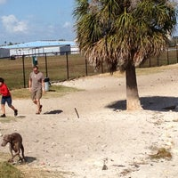 Photo taken at Davis Island Dog Park by Jan B. on 12/1/2012