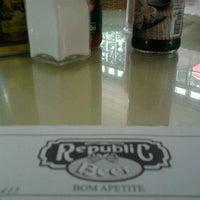 Photo taken at Republic Restaurante by Flavio S. on 11/22/2012