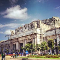 Photo taken at Stazione Milano Centrale by Marco Z. on 5/23/2013