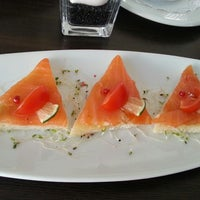 Photo taken at SHMS French restaurant by Daisy S. on 2/26/2013