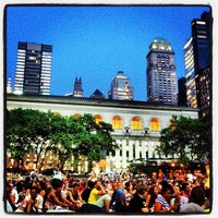 Photo taken at Bryant Park by Jeffrey on 7/9/2013